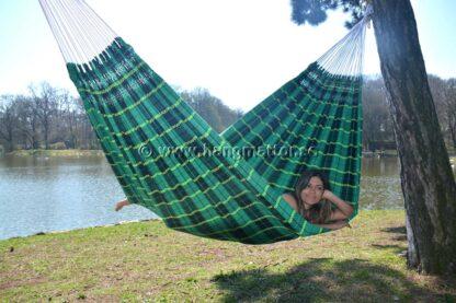 Hängmatta Goiás ligger diagonalt i hängmattan