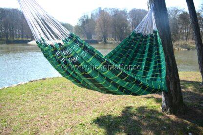Hängmatta Goiás tom hänger mellan träd