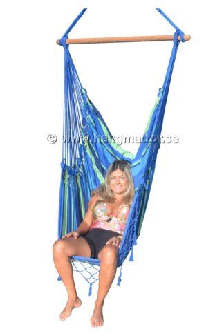 Hängstol Lagoa frilagd stående sitter med benen ner